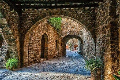 Monells Cruïlles Monells I Sant Sadurní De L Heura Castle Diorama Region