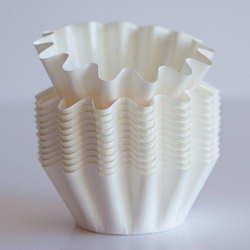 White Floret Baking Cups Bake It Pretty Pastel En Taza