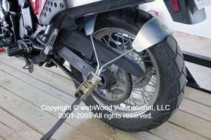 Tyre Down Motorcycle Trailer Tie Karri On John S Acct