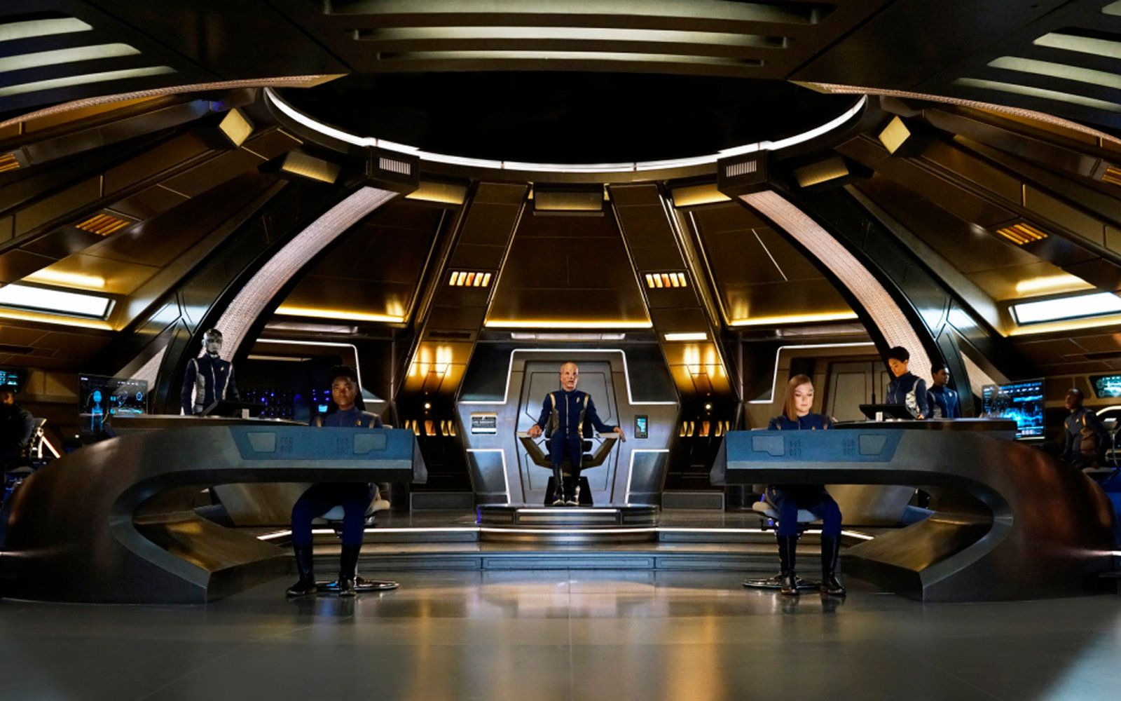 Star Trek Discovery Season 1 Blu Ray Trailer Bonus Features Revealed Star Trek Bridge Star Trek Tv Star Trek