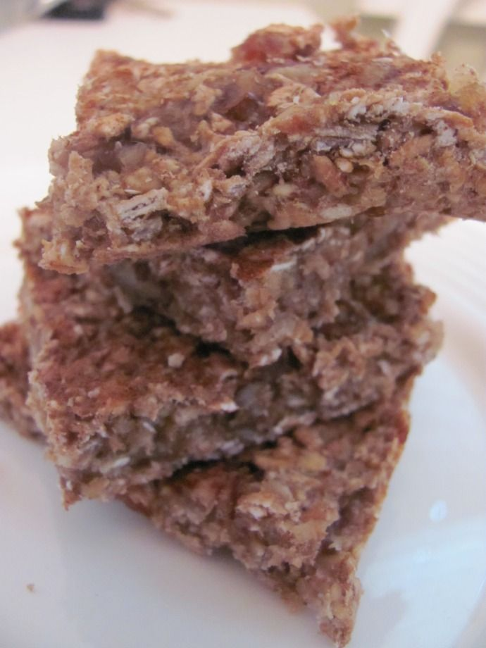 Banana Oat Bars - No added sugar. Chewy. Sweet. High cal, high mineral, high protein. Everything a oncology patient needs!