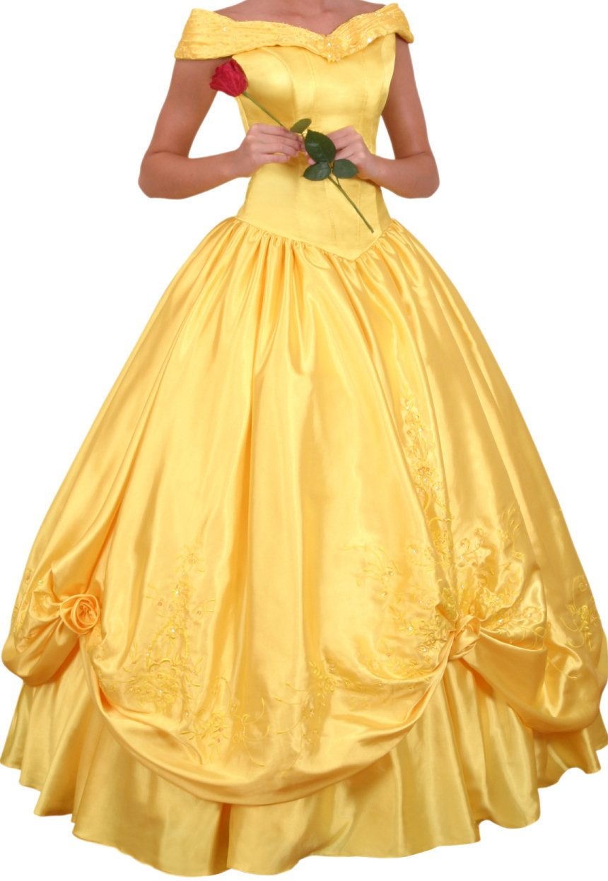 Yellow belle wedding dress – Dress and bottoms
