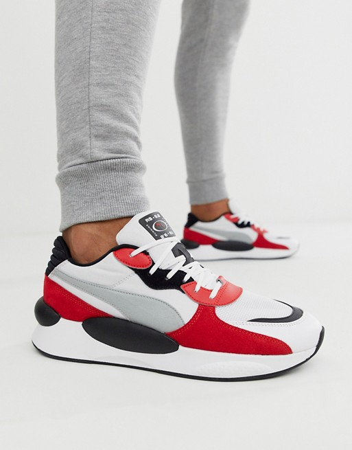 Puma RS 9.8 Space trainers in white