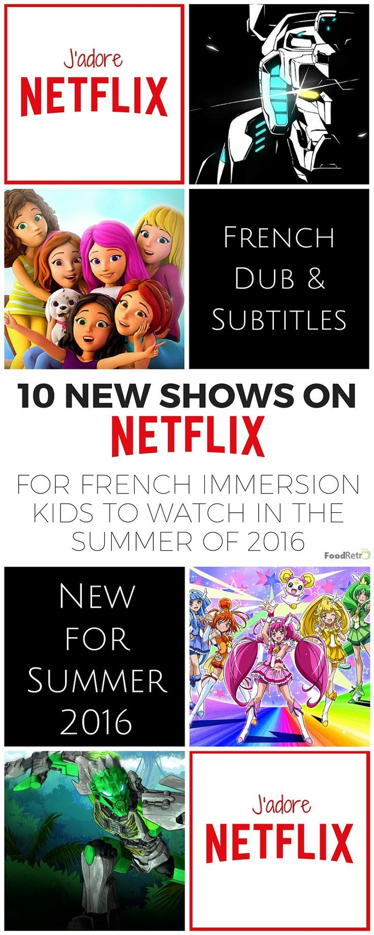 10 New Netflix Shows For French Immersion Kids to Watch in