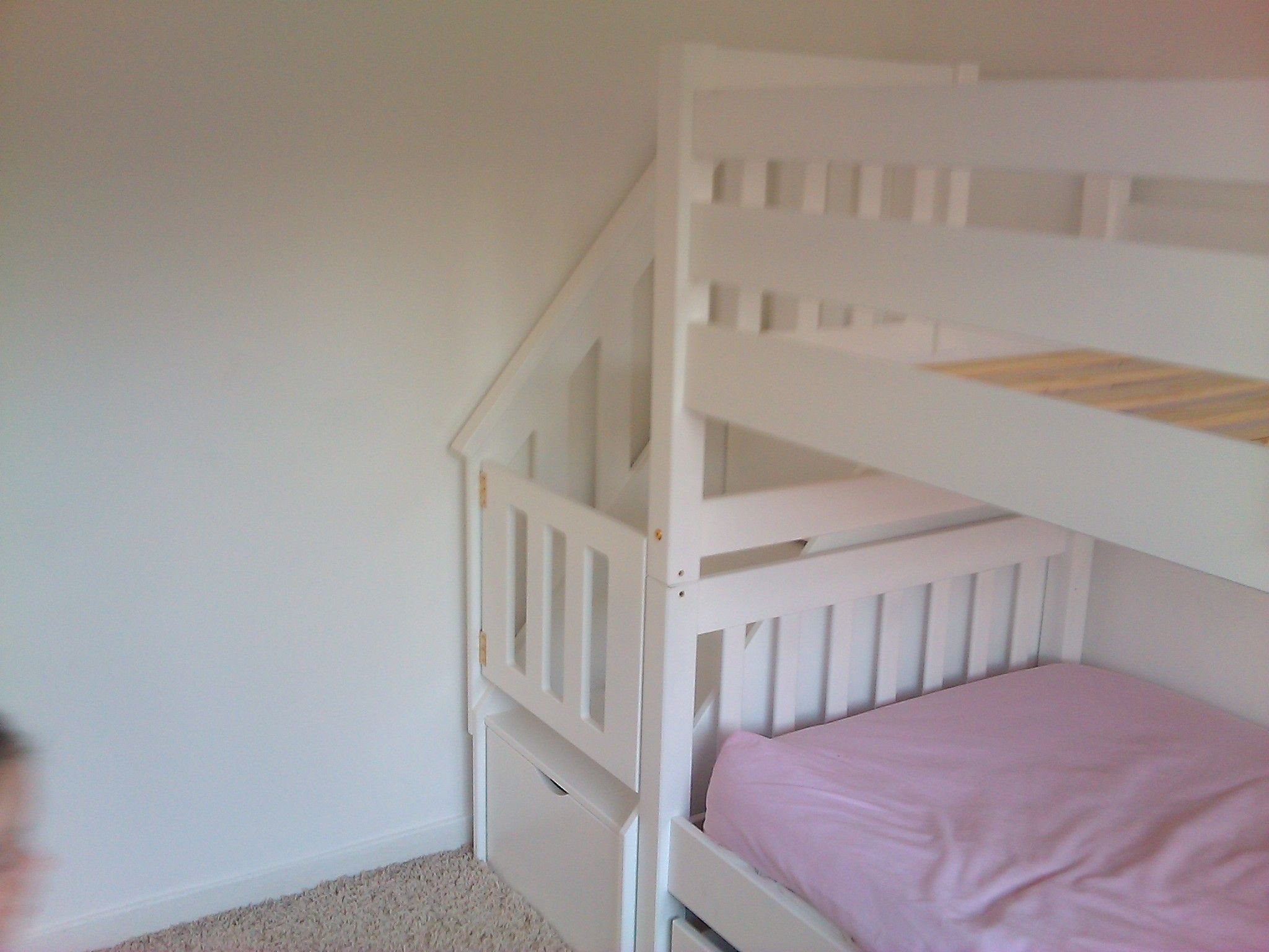 Baby bed gates - Bunk Bed Gate For Our New Little Climber Who Likes To Explore Her Brother S Room