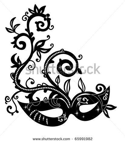 butterfly masquerade mask clipart masquerades masks tattoo rh pinterest com  masquerade mask clipart black