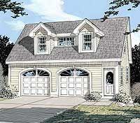Plan 3792TM: Simple Carriage House Plan