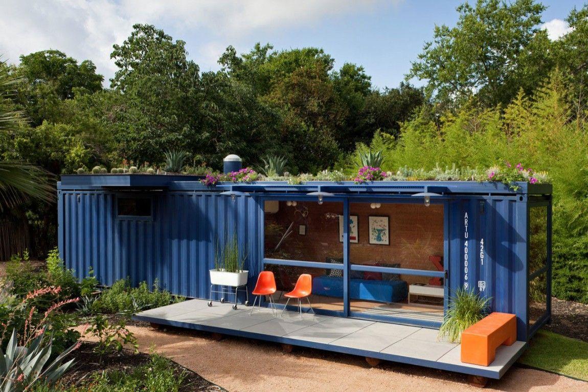 Ongekend Kleine woning bouwen? Al aan een containerwoning gedacht WC-53