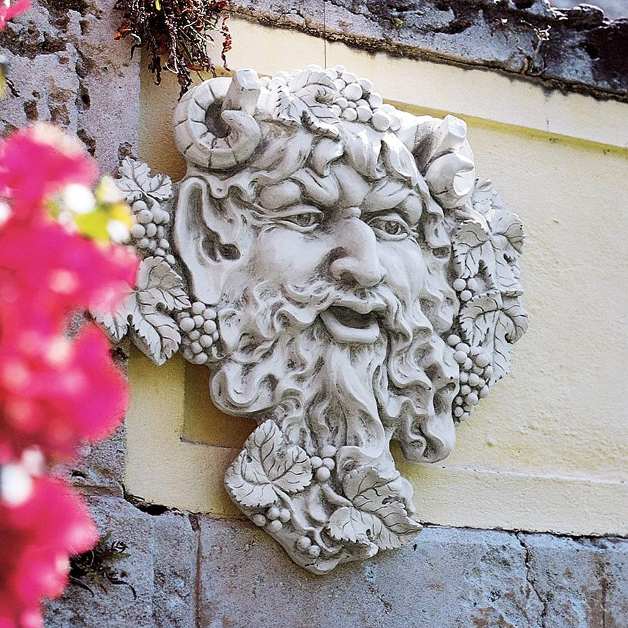 Large bacchus plaque products pinterest products