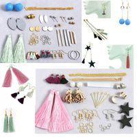 #DiyEarringKit #EarringMaking #earringcomponents #earringMinimalist #geometricEarrings #BlanksBar #craftearring #makeearring,