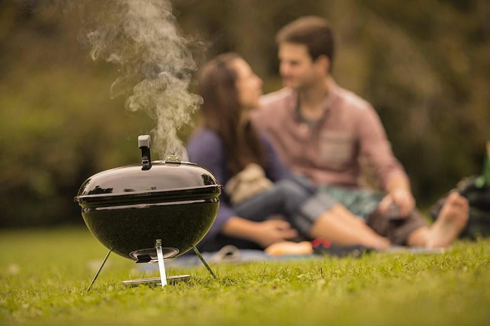 Amazon Com Weber 10020 Smokey Joe 14 Inch Portable Grill Garden Outdoor Charcoal Grill Small Grill Portable Grill