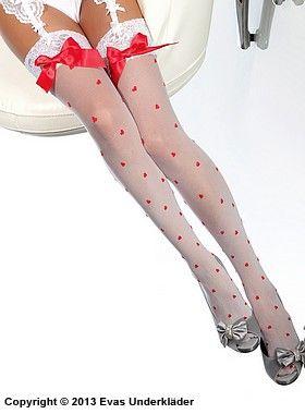Stockings med hjärtan  0b1a69bd8b951