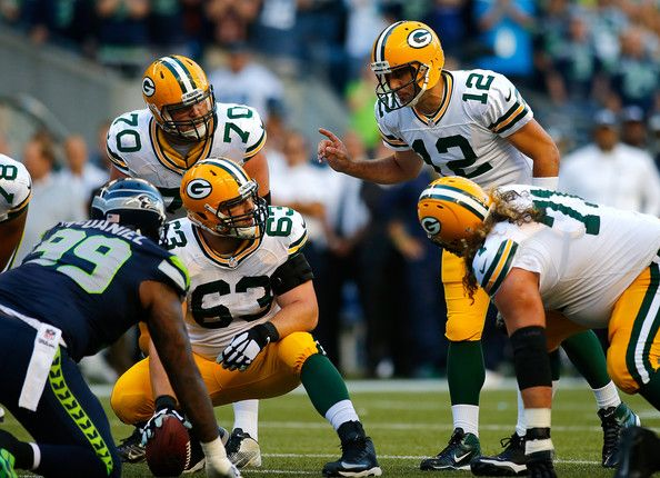 Aaron Rodgers Photos: Green Bay Packers v Seattle Seahawks