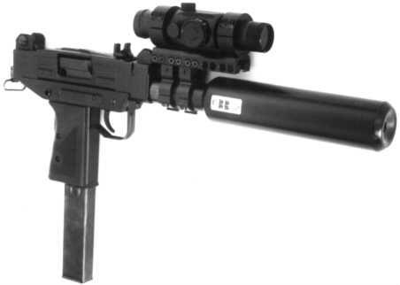 Micro-UZI with sight
