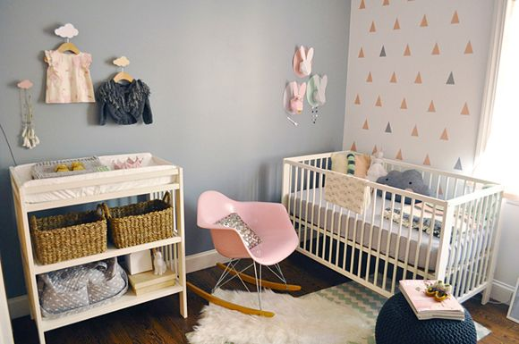 Chambre bébé moderne Kids rooms, Room and Babies