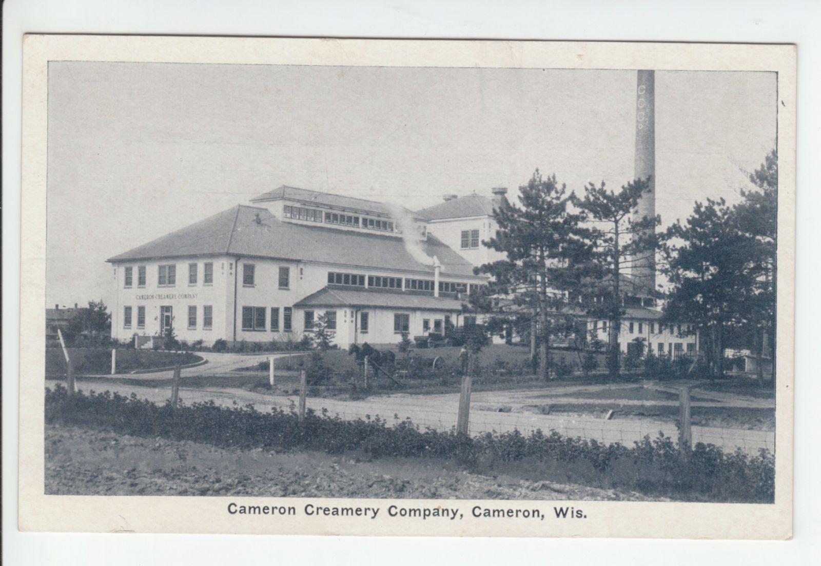 Cameron Creamery Company Dairy Wisconsin Barron County Wi Old Postcard Vintage | eBay