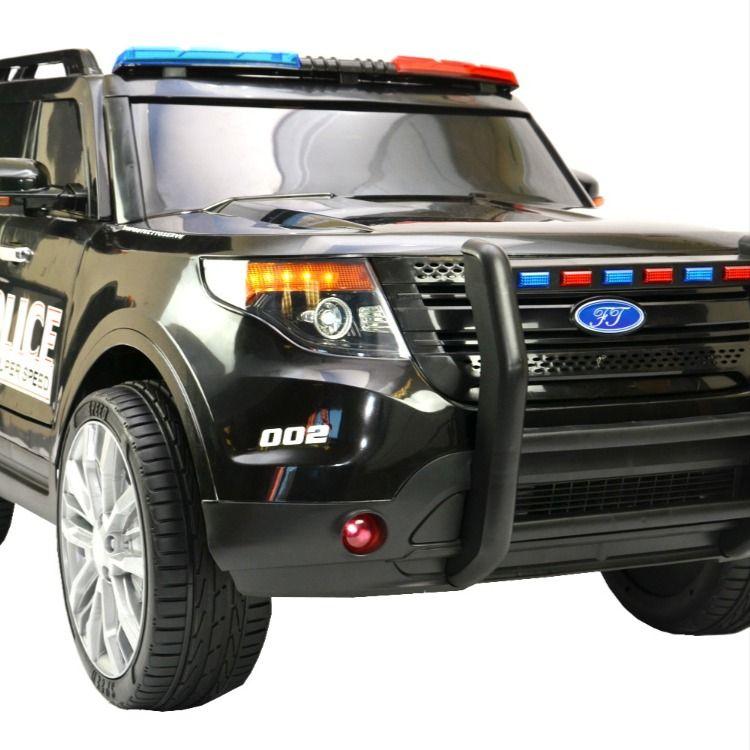 Kinderfahrzeug Elektro Auto Us Police Suv 12v7ah Akku 2 Motoren 2 4ghz Fernsteuerung In 2020 Fahrzeuge Kinderfahrzeuge Motor