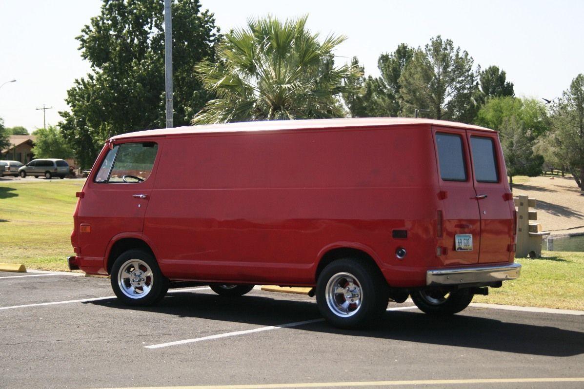 1969 Chevrolet G20 Van Panel Vintage Vans Vans Cool Vans