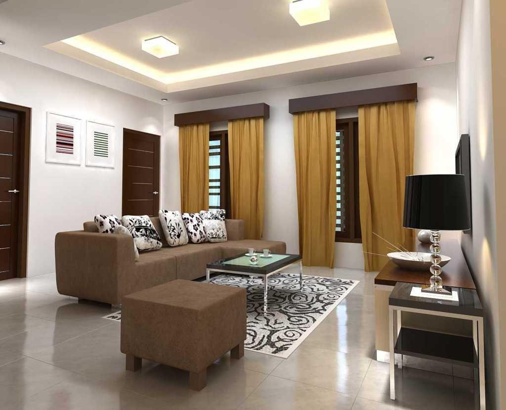 Desain Plafon Ruang Tamu Cantik Ide Ide Untuk Rumah Pinterest