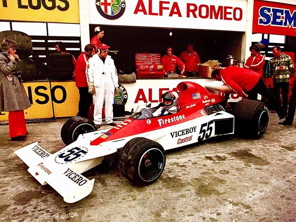 1974 Canadian GP at Mosport. 3.0 Pernelli VPJ4-Cosworth with Mario ...