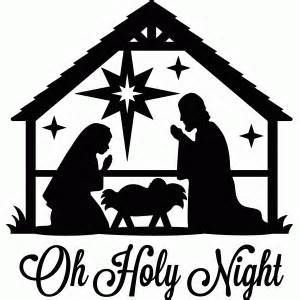 photograph about Nativity Clipart Free Printable known as Cost-free Printable Xmas Silhouette - Bing photos Ink