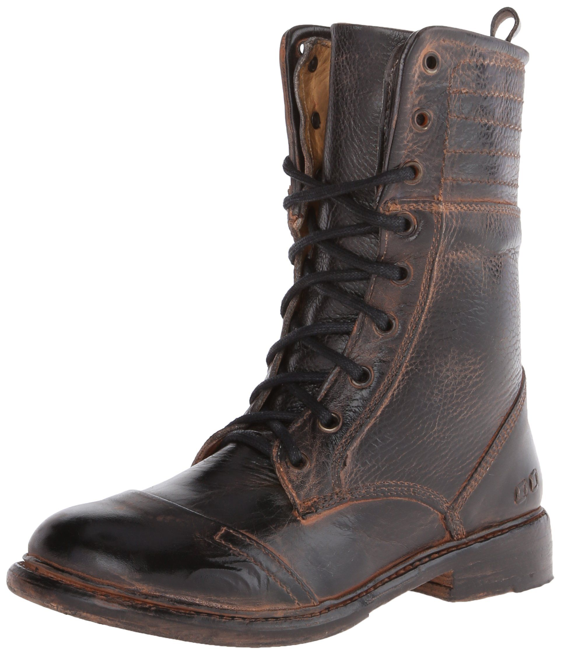 Bed Stu Women's Roanne Boot,Black Rustic Rust,8.5 M US