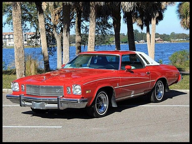 1975 Red Buick Regal My First Car