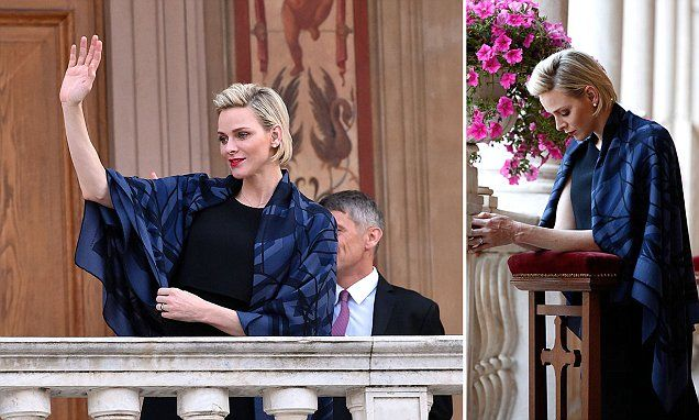 Princess Charlene joins the celebration of Fite de Dieu in Monaco