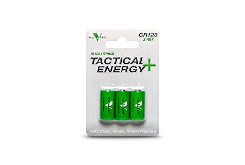 Viridian Cr123a 3 Volt Lithium Battery 3 Pack Lithium Battery Laser Pointers