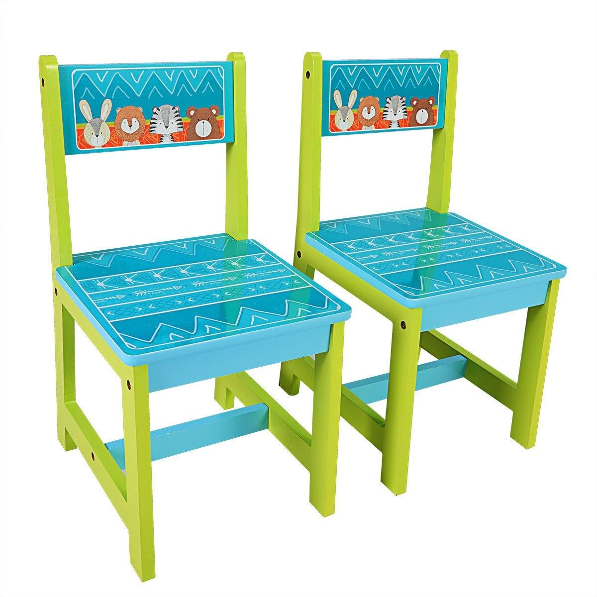 Kids Table And Chairs Set For Toddler Baby Furniture With Cartoon Pattern 62 95 Free Shipping Https Bit Ly Kids Table And Chairs Kids Table Set Kid Table