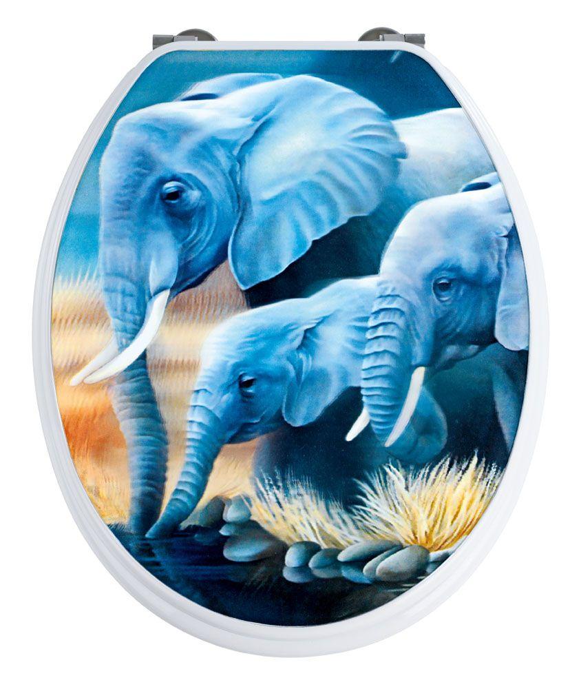 elephant toilet seat   ... / Novelty Toilet Seats / Fun Novelty ...