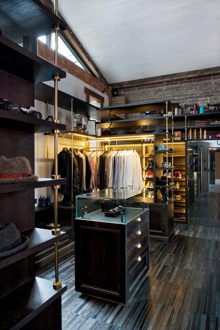 Minimalist Closet Men