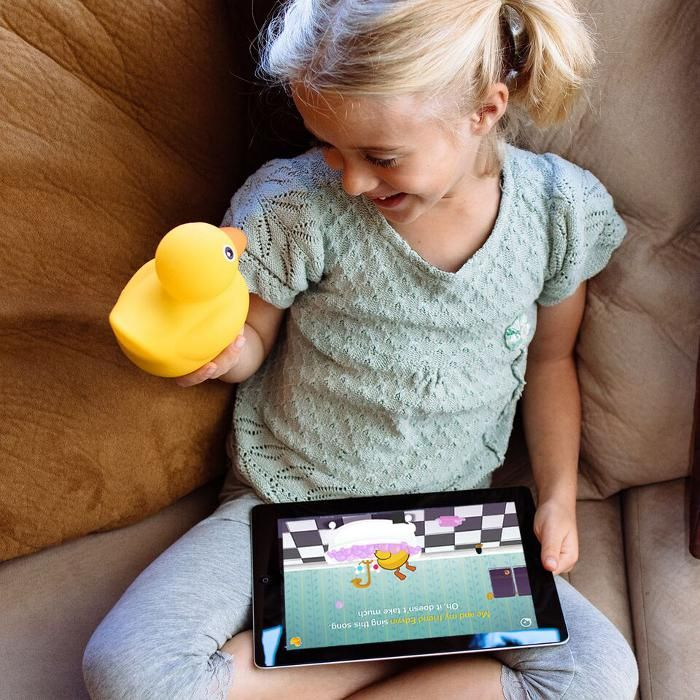 Smartphone and tablet toys for kids: Edwin the duck will send your ...