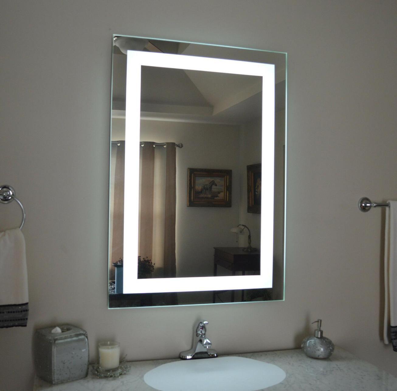 35 Stunning Bathroom Vanity Mirrors With Light Designs Lighted Vanity Mirror Bathroom Mirror Lights Diy Vanity Mirror