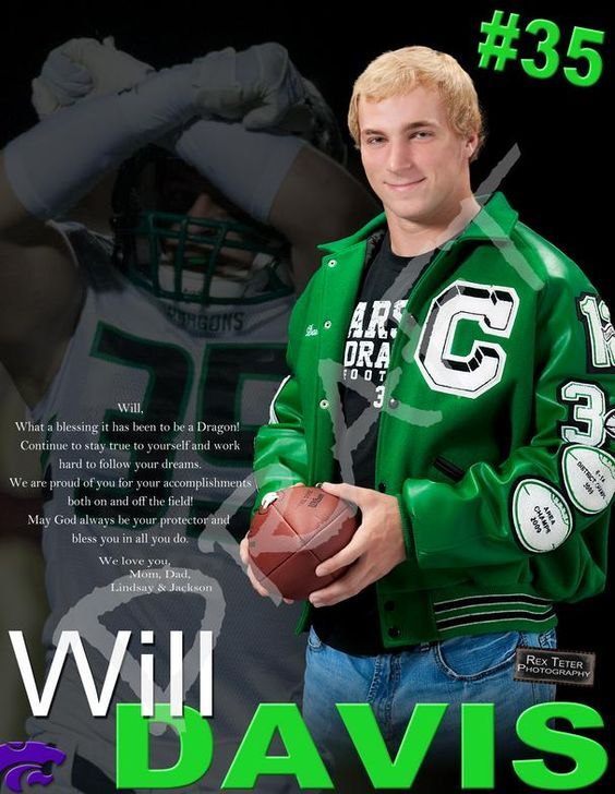 high school football program ad template google search yearbook