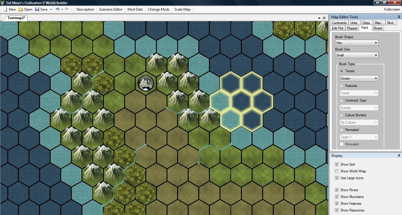civilization 4 how to work all tiles