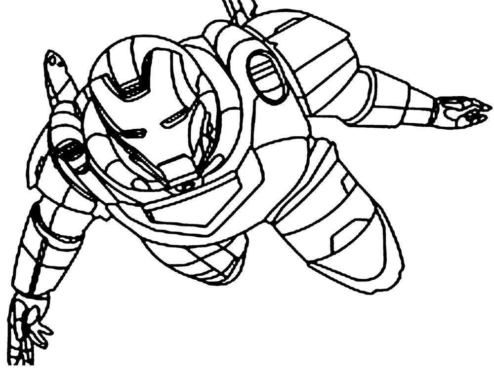 51 Iron Man Hulkbuster Coloring Page