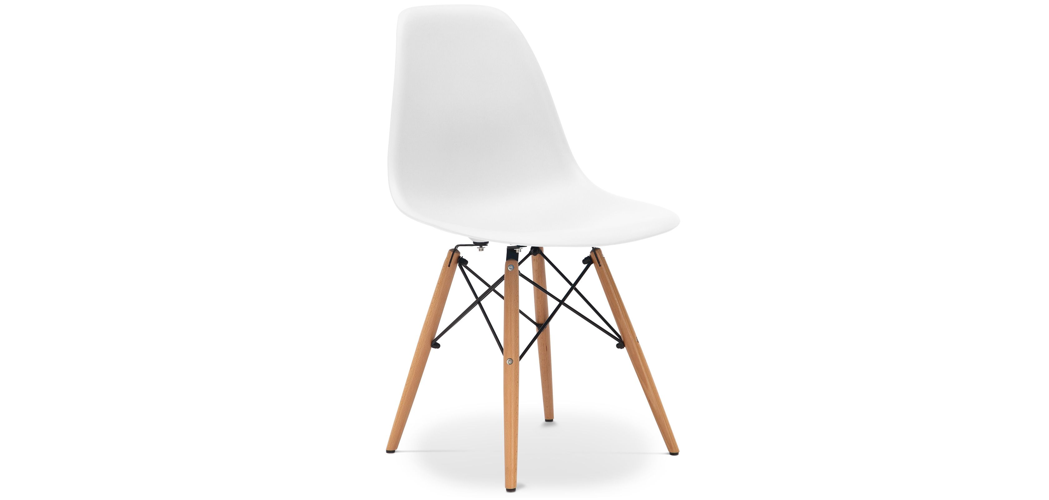 Dsw Chair Charles Eames Style Plastic Matt Dining Chairs