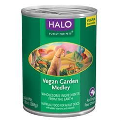 Halo Halo Vegan Garden Medley Canned Dogs Food 13 12 Case