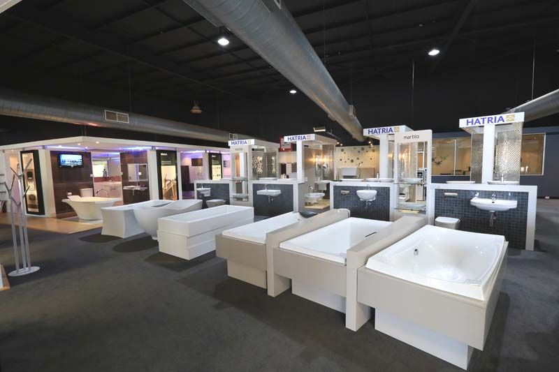 Our bathroom showroom Perth has the largest display of designer ...