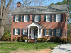 Colonial House Portico Google Search Home Update Ideas - Colonial portico front entrance