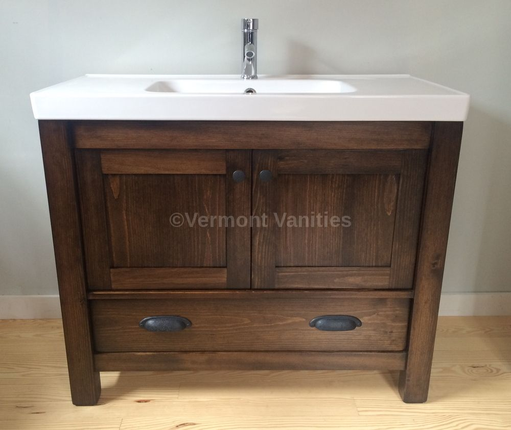 """This modern yet rustic 40"""" custom built and newly restyled ..."""