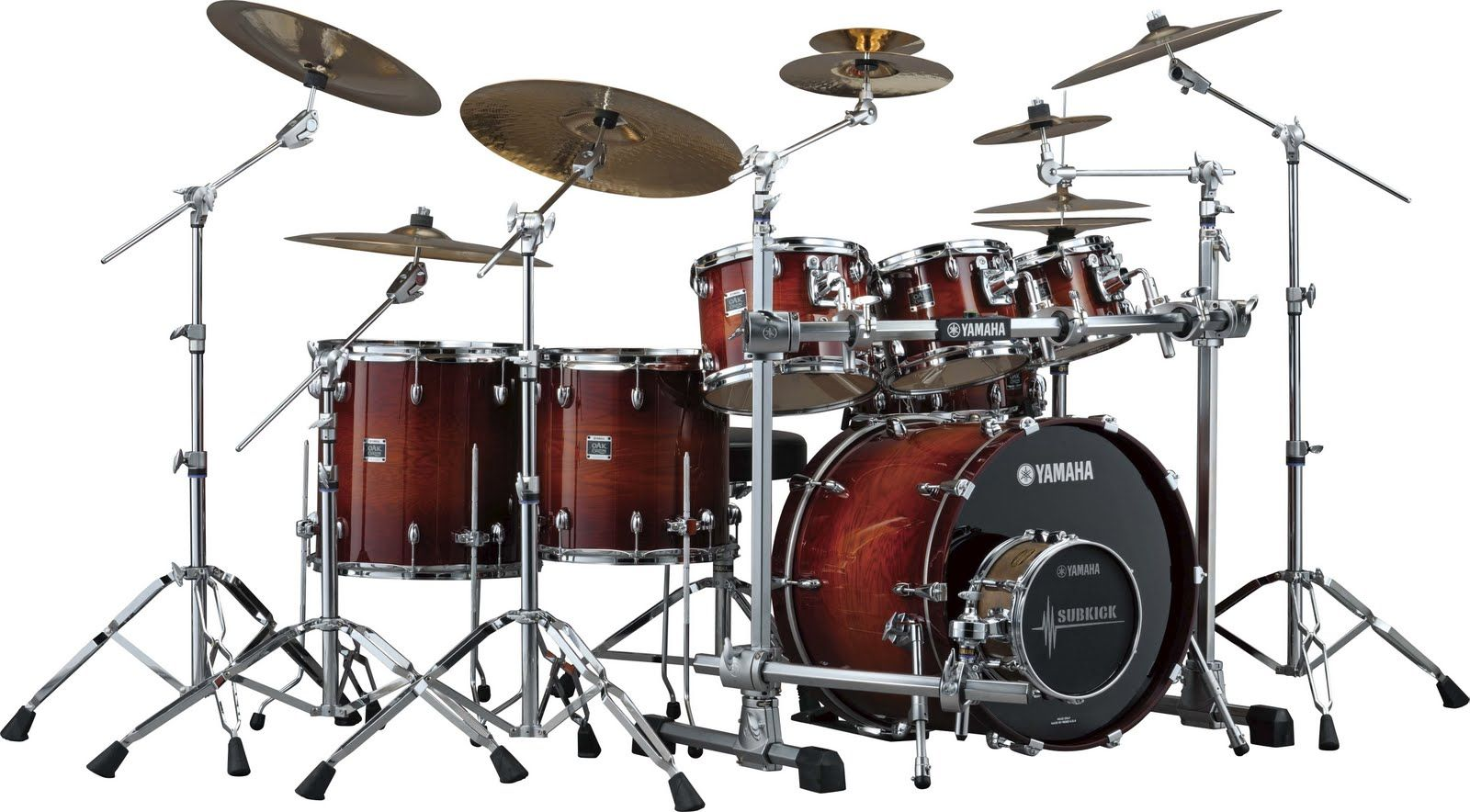 image detail for yamaha oak custom series drum set find your drum set drum kits. Black Bedroom Furniture Sets. Home Design Ideas