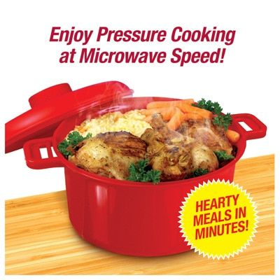 Micromaster 2 5 Qt Microwave Pressure Cooker Kitchenware