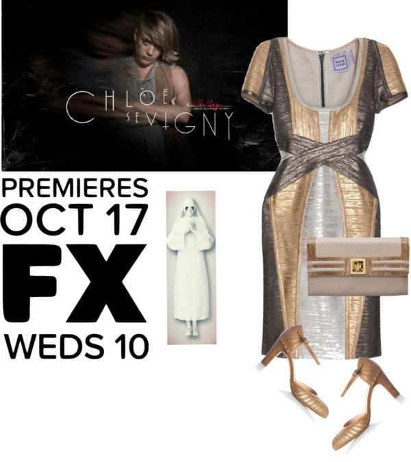 """""""American Horror Story: Asylum"""" by fourseason ❤ liked on Polyvore"""