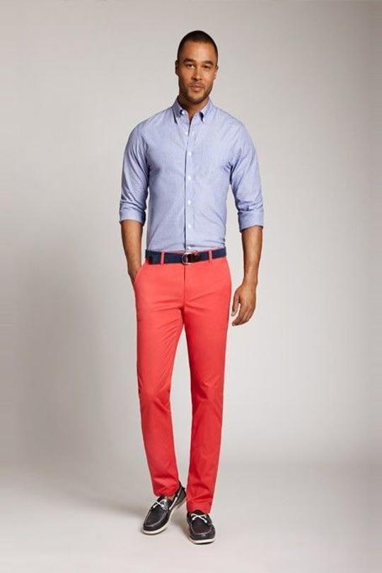 le chino pour homme chemises bleues chemise et rouge. Black Bedroom Furniture Sets. Home Design Ideas