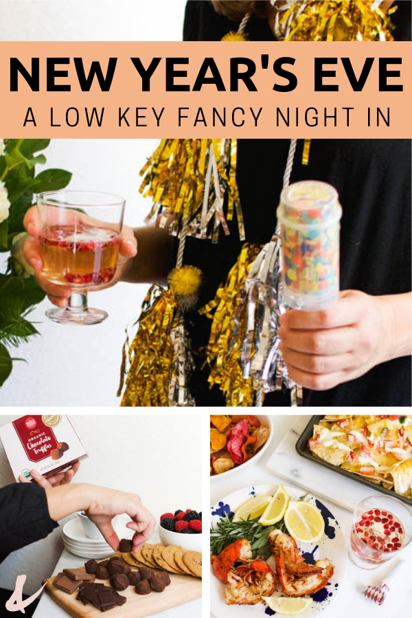 A Low Key Fancy New Year S Eve Party With Whole Foods New Years Eve Food New Years Eve Snacks New Years Eve Party Ideas Food