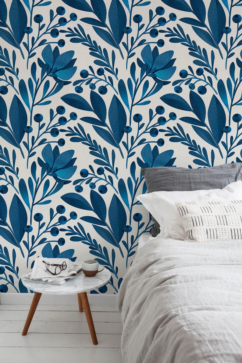 Verwisselbare wallpaper Peel en stick wallpaper muur