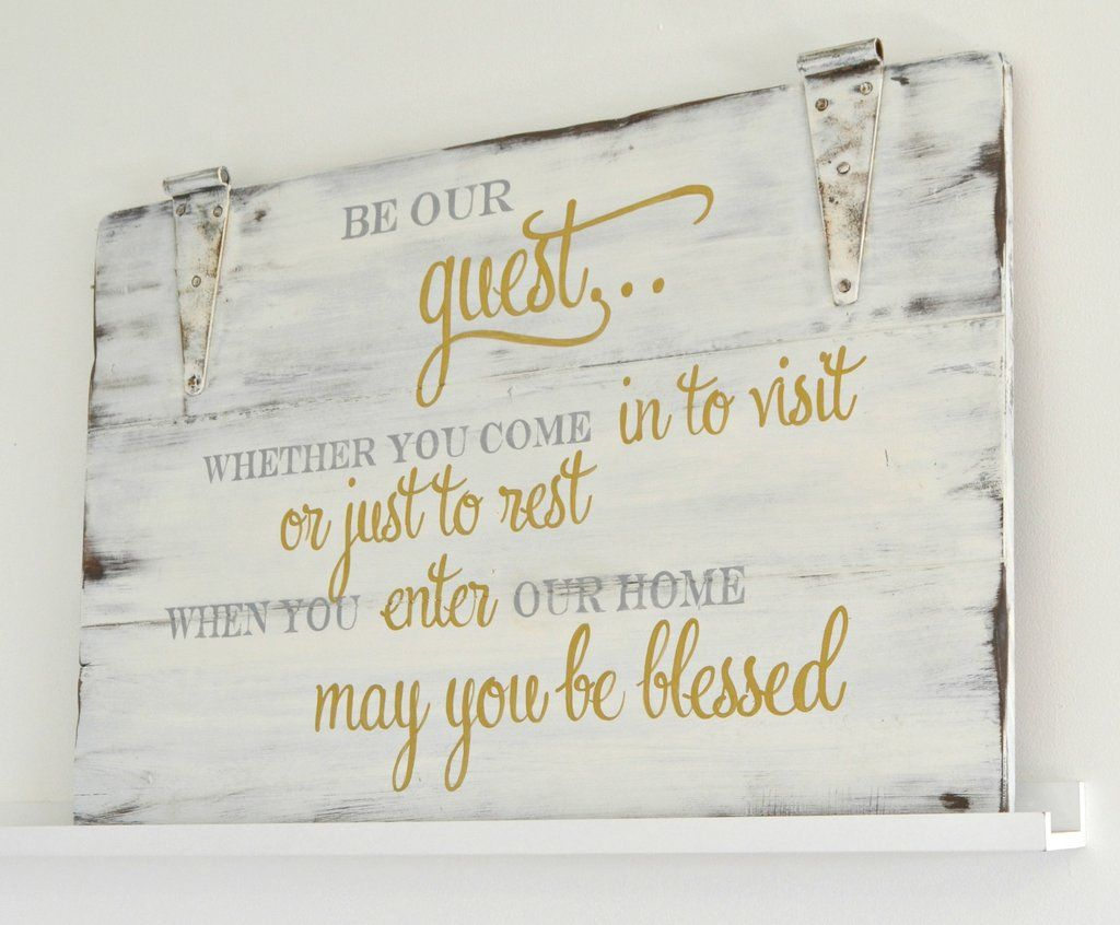 Guest Room Sign Decor Glamorous New Signs In The Shop  Mondays Third And Shopping Design Inspiration