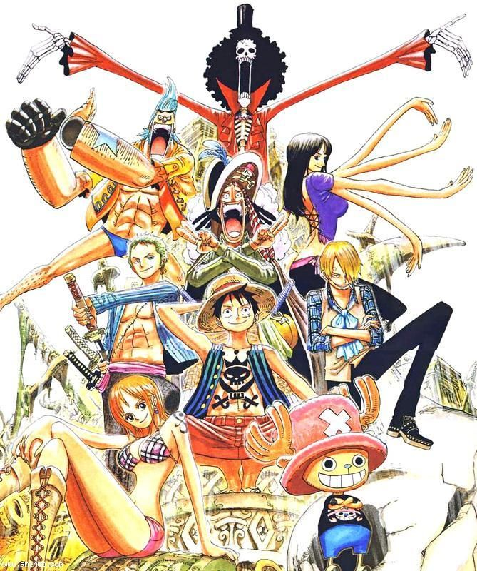One Piece~~ pirates and adventure <3 SO FUN